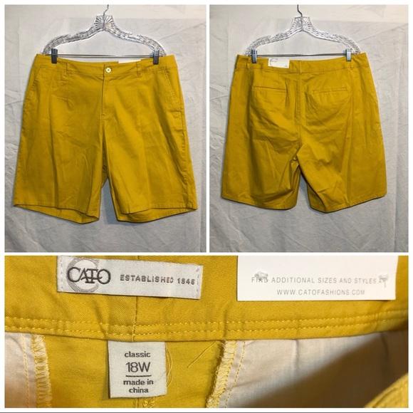 Cato Pants - Cato Classic short size 18W